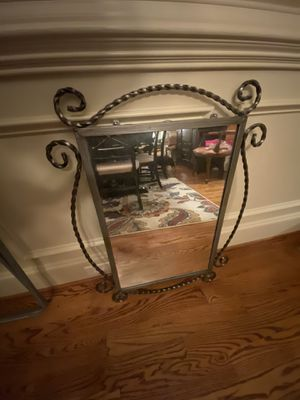 Metal framed wall mirror for Sale in Snellville, GA