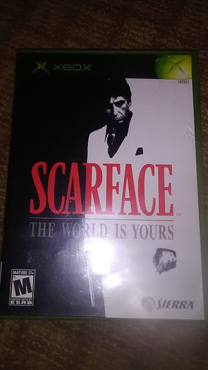 SCARFACE the world is yours (original Xbox) for Sale in Apache Junction, AZ