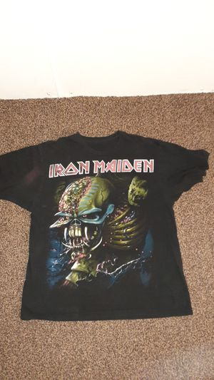 Iron Maiden concert tee for Sale in Akron, OH