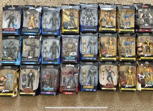 Marvel legends spider man Hulk Captain America Groot Hasbro toy lot for Sale in Antelope, CA