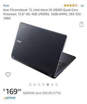 Acer Chromebook - brand new. for Sale in Los Angeles, CA