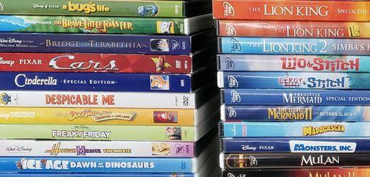 DVD Bundle - Disney, Pixar and Dreamworks. for Sale in Mesa,  AZ