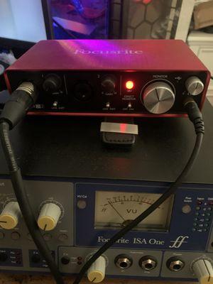 Focusrite Scarlett 2i2 audio interface gen 2 for Sale in El Segundo, CA