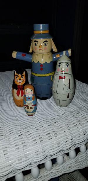 Rare Kurt S. Adler Nesting dolls for Sale in Bakersfield, CA