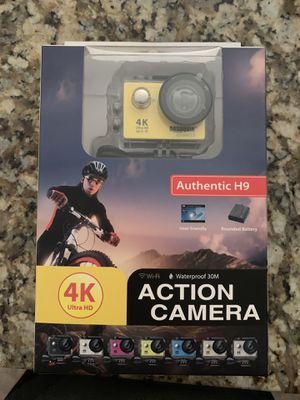 4K waterproof action camera BRAND NEW NEVER USED UNOPENED BOX for Sale for sale  Howell, NJ