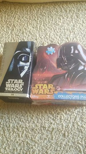 Star wars puzzle and movie collection for Sale in MIDDLEBRG HTS, OH