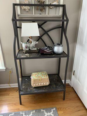 Brown/Bronze Metal Bakers Rack for Sale in Mentor, OH
