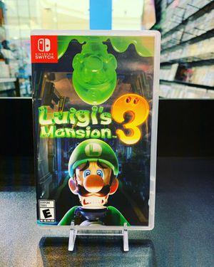 Nintendo switch Luigis Mansion 3 for Sale in Redondo Beach, CA