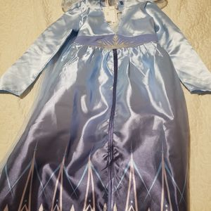 Elsa Size 7-8 Dress. Worn Once Just For Photos for Sale in The Bronx, NY