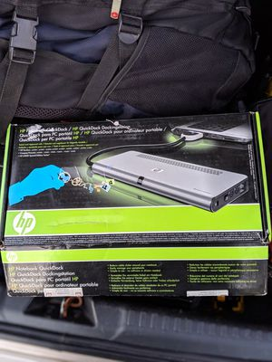 (NEW) DOCK STATION FOR HP NOTEBOOK for Sale in Peoria, AZ