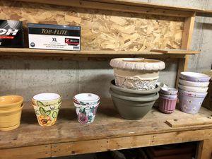 Flower pots for Sale in Ashville, OH