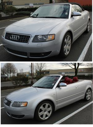 2005 Audi S4 Quattro Cabriolet Low Miles for Sale in Seattle, WA