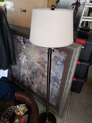Metal adjustable height floor lamp for Sale in Spring Hill, TN