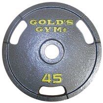 2 Gold's Gym Olympic Grip Weight Plates Single Model OPH-GG045 New for Sale in Belleair, FL