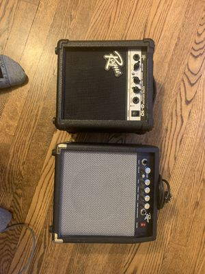Guitar and 2 amp set for Sale in York, PA