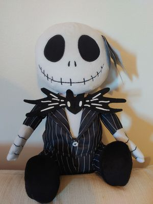 14 in animated Jack The Nightmare Before Christmas dancing 360 degree head-turning plushie a must-have for any collector for Sale in Torrance, CA