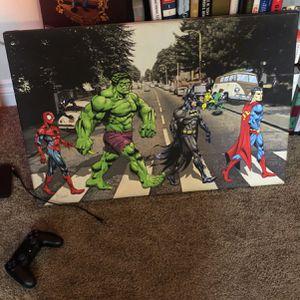 Super Heroes Walking Down Abbey Road for Sale in Huntington Beach, CA