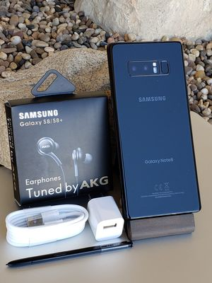 Galaxy Note 8 64GB Clean Unlocked T-Mobile Metro AT&T Cricket Sprint Boost Verizon Telcel Black $350 or best reasonable offer NO low offers 🚫 for Sale in Montebello, CA
