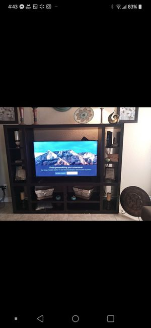 55 inch smart TV/Entertainment center for Sale in Fresno, CA