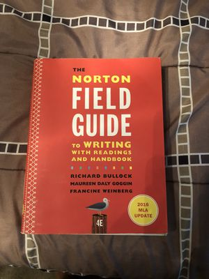The Norton Field Guide forth edition for Sale in Cutler, CA