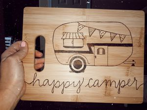 Happy Camper Cuttingboard for Sale in Peoria, AZ
