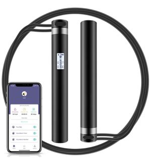 Brand New Jump Rope, Smart Rope with APP Data Analysis, USB Rechargeable Skipping Rope with HD LED Display for Fitness, Crossfit, Gym, Burn Calorie - for Sale in Hayward, CA