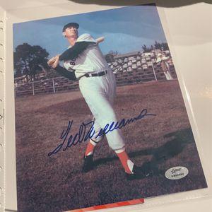 Ted Williams Autograph 8x10 for Sale in Boca Raton, FL