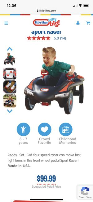 Pedal car little tikes toy ride on ride on for Sale in Miami, FL
