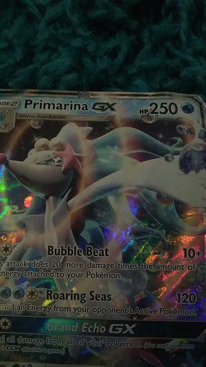 Primarina GX, Pokemon for Sale in Rockville, MD