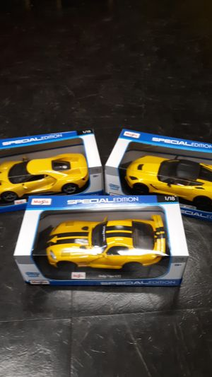 1/18 scale diecast cars for Sale in Millersville, MD