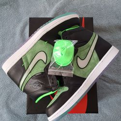 Air Jordan 1 High Zoom Air ZEN GREEN SIZE 8 for Sale in Brooklyn, NY