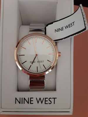 Nine west silver watch for Sale in Garland, TX