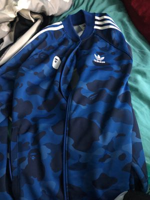 Bape adicolor track jacket for Sale in West Seneca, NY