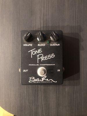 Barber Tone Press Compressor Guitar Pedal for Sale in Huntington Beach, CA