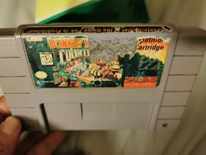 Super Nintendo donkey Kong competition trading SNES for Sale in Escondido, CA