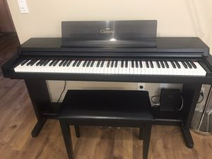 Yamaha Clavinova Digital Piano w/ Bench for Sale in San Diego, CA