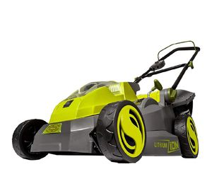 the Sun Joe iON16LM cordless lawn mower! for Sale in Hesperia, CA