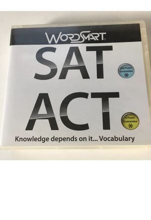 WordSmart SAT/ACT Test Prep (5 discs) Windows Apple Mac Software for Sale in Worcester, MA