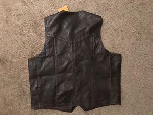 New Leather Vest for Sale in Arlington, VA