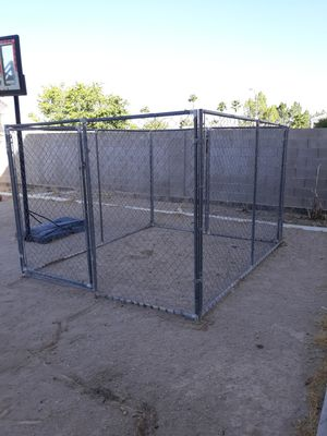 Dog Cage Chain Link Fence for Sale in Las Vegas, NV