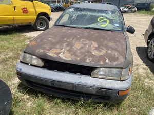 1996 TOYOTA COROLLA 1.6 Parts for Sale in Houston, TX