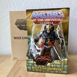 Masters of the Universe Classics Buzz Saw Hordak Sealed Inbox Action Figure Toy with Mailer for Sale in Elizabethtown, PA