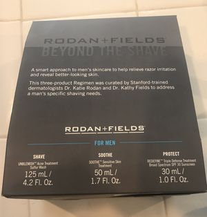 Rodan and Fields: Beyond the Shave Regimen. Brandee new in sealed box. for Sale in San Diego, CA