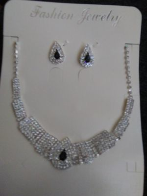 Cz Black onto and diamond matching set for Sale in Camp Hill, PA