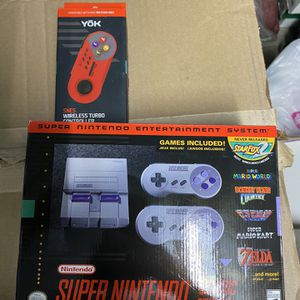 Super Nintendo classic addition And Play station class for Sale in Las Vegas, NV