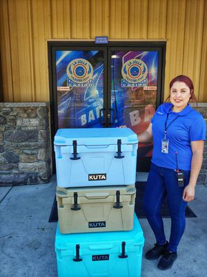 🏆🏆🏆KUTA ROTOMOLDED COOLERS AND FISH BAGS FACTORY DIRECT🏆🏆🏆 for Sale in Temecula, CA