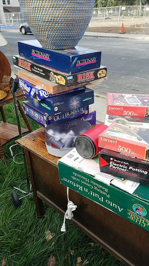 Misc games and puzzles for Sale in Concord, CA