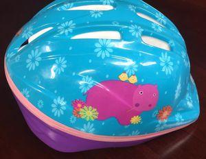 Schwinn Girls Toddler Child's Bicycle Bike Helmet, Adjustable Strap, Hippo for Sale in Baltimore, MD