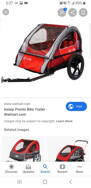 Instep bike trailer for Sale in Richmond, CA