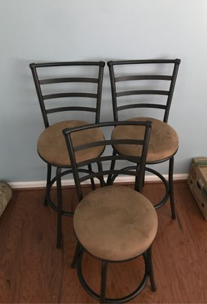 3 Bar Stools for Sale in Durham, NC